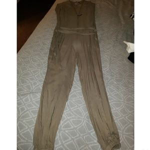 Army green Guess romper